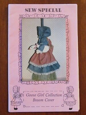 Sew Special Goose Girl Collection - Broom Cover Home Decor Country Style