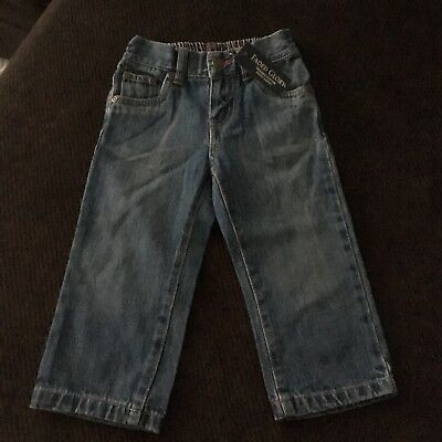 NEW WITH TAGS! Boy's Toddler Faded Glory Elastic Waist Jeans Size 18 Months