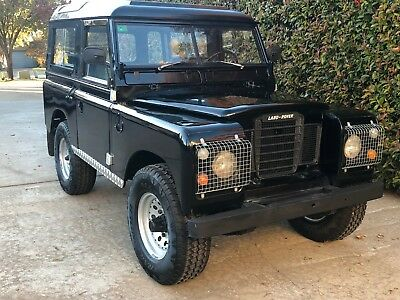 1979 Land Rover 88  Land Rover Series 3 88 Project