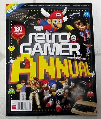 RETRO GAMER Annual 2017 Essential GUIDE To Classic GAMES 180 Pages ICONIC GAMES