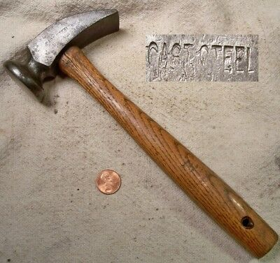 Vintage Cast Steel Cobblers Hammer Working & Collectible Old Tool READ