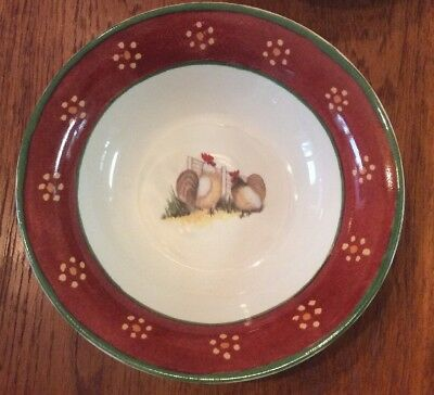 """Block """"Country Farm"""" by Gear Soup Cereal Bowls, Set Of 4"""