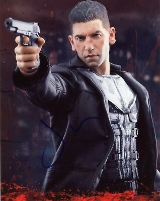 """~~ JON BERNTHAL Authentic Hand-Signed """"THE PUNISHER"""" 8x10 Photo E~~"""
