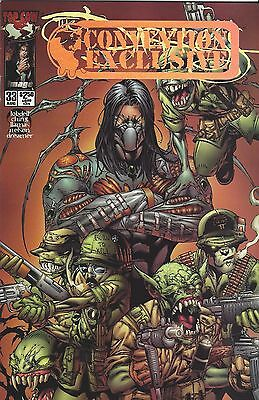 The Darkness Convention Gold Foil Ex Variant Comic V1 #33 Aug 2000 Image Top Cow