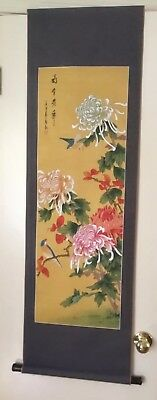Asian Decorative Scroll Hanging