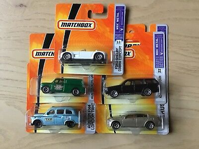 Matchbox 5 Modelle in OVP