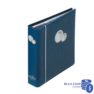 Lighthouse NUMIS Blue Coin Album (Inc. 5 Pages for 143 Coins)