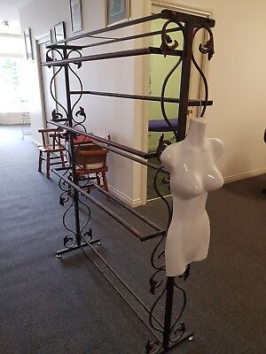 Lingerie Stand and half hanging mannequin