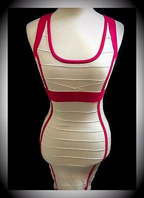 f435b5fb771 CHARLOTTE RUSSE PINK Ribbed Strappy Short Mini Dress With Lace ...