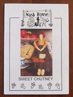 Wash House Cats - Sweet Chutney  Doll & Clothes Soft Toy