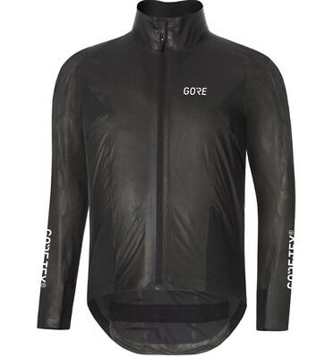 Gore Wear C7 Gore-Tex Shakedry Stretch Cycling Winter Jacket - Men's XL.