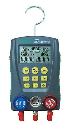 DY517  Digital manifold gauge refrigeration pressure tester HVAC 2-way valve