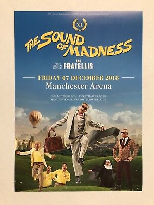 2x the sound of MADNESS live 2018 Manchester Arena promo FLYERS concert