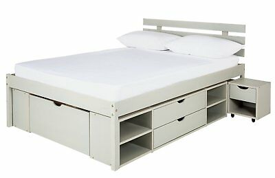 ddb43bdb6f6f ARGOS HOME ULTIMATE Storage II Bed Frame - Small Double / Double ...