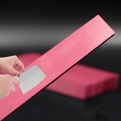 Rectangle Grit Knife Sharpening Grindstone Whetstone Polishing Red Ruby Stone