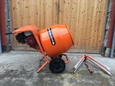 Belle minimix 150 petrol cement mixer with stand (PRICE INC VAT)