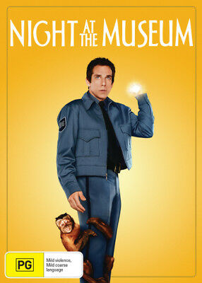 Night at the Museum DVD R4 (New)!