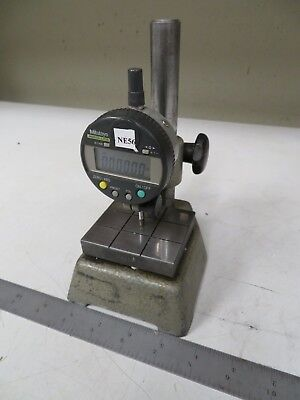 Mitutoyo Absolute Indicator 543-251B  on Gage Comparator Stand NE56
