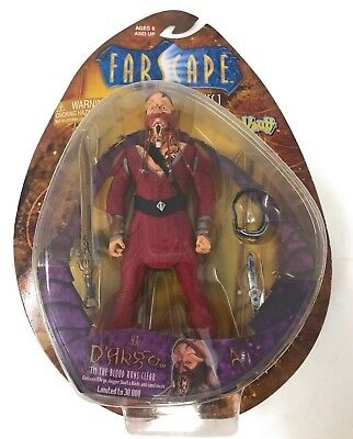 Farscape Series One Dargo Action Figure Limited  Nib