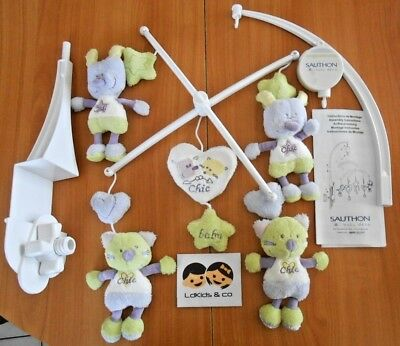 SAUTHON Baby DECO MOBILE MUSICAL THEME CHIC FOR KIDS MIXTE POUR BEBE