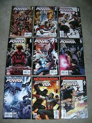 Ultimate Power #1 2 3 4 5 6 7 8 9 Complete Set Marvel Comics 2006 Sets Lots Run
