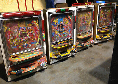 4 LOT Vintage PACHINKO Slot Game NONWORKING Parts or Repair * P/U 22980 VA