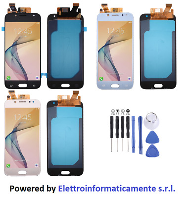 Display LCD + Touch Screen Schermo Vetro x Samsung Galaxy J5 2017 J530 SM-J530F