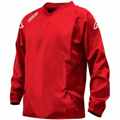 Acerbis Motocross Enduro Quad CYCLING MTB golf Waterproof Jacket mens RED medium