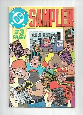DC SAMPLER #3 1st CONSTANTINE HELLBLAZER SWAMP THING #37 alan moore 9.0 VF/NM DC