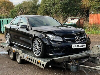 Mercedes-Benz C63 Amg Saloon 6.3 V8 2012/12 Reg Light Damage Salvage