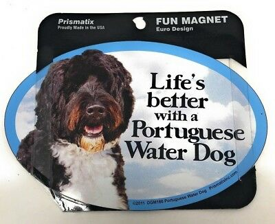 LIFE'S BETTER WITH A PORTUGUESE WATER DOG Dog, Cars, Trucks. Lockers