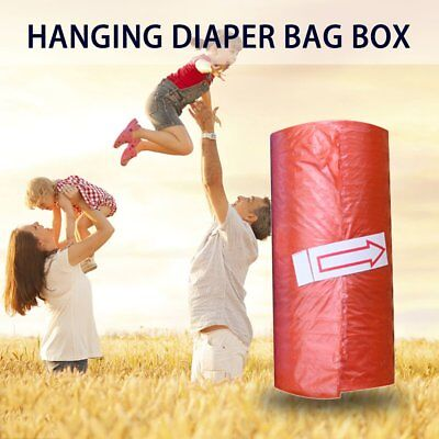 15pcs/roll Baby Diaper Bags Portable Disposable Baby Pet Garbage Rubbish Bags Fk