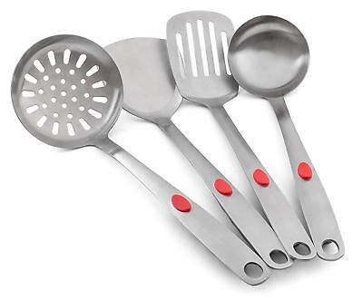 Kitchen Cooking Utensils Set Stainless Steel Serving Cooking Accessories Set