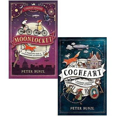 Peter bunzl cogheart adventures series 2 books set collection Paperback NEW
