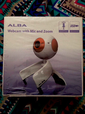 Alba Webcam With Mic And Zoom
