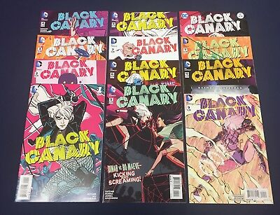 Black Canary #1-12 : Complete Series : Dc 2015 : Fletcher, Wu : First Prints