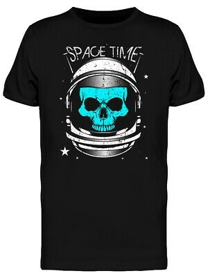 Skull Astronaut Space Time Men's Tee -Image by Shutterstock
