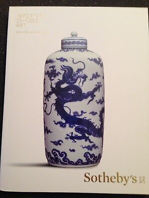 Sotheby's Catalog Important Chinese Art -March 14, 2017