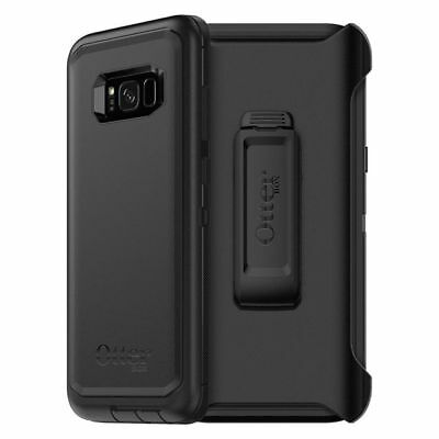 Otterbox Defender Series Case for Samsung Galaxy S8+ Plus With Holster - Black