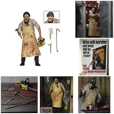 """ULTIMATE LEATHERFACE The Texas Chainsaw Massacre Neca 2015 7"""" INCH 2018 FIGURE"""