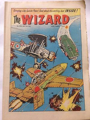 DC Thompson. THE WIZARD Comic May 4th 1963. Issue 1942 *Free UK Postage*