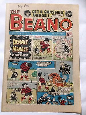 DC Thompson THE BEANO Comic. Issue 1870 May 20th 1978 **Free UK Postage**