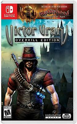 Victor Vran: Overkill Edition (Nintendo Switch, 2018) BRAND NEW Sealed