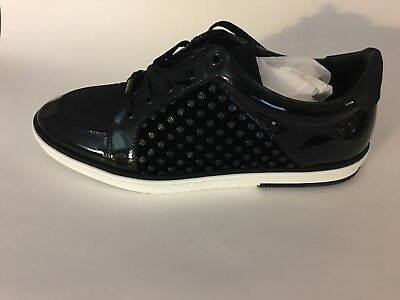 5399c3603bb Jimmy Choo Sydney Men Shoes Size 42.5EU  9.5 US in Black leather and Velvet