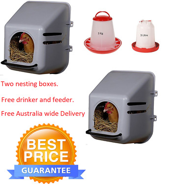 Poultry / Chicken laying/ nesting  box
