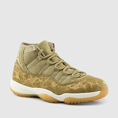 7f9d848f74a0fa Nike Air Jordan Retro XI 11 Neutral Olive Sail Gum Light Brown AR0715-200  Wmns