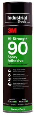 3M Industrial Hi-Strength 90 Spray Adhesive 500G - 62494249212
