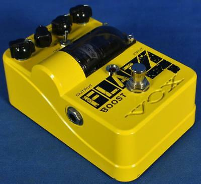 Vox Japan Tone Garage Flat 4 Electric Guitar Tube Overdrive Boost Effect Pedal