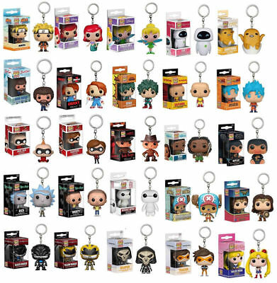 Funko Pocket Pop! Schlüsselanhänger Baby Groot DeadPool Harry Potter Keyring