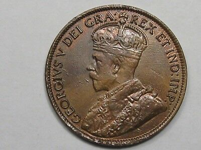 AU 1912 Canadian Large Cent. CANADA.  #27